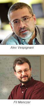 Alex Vespignani and Fil Menczer